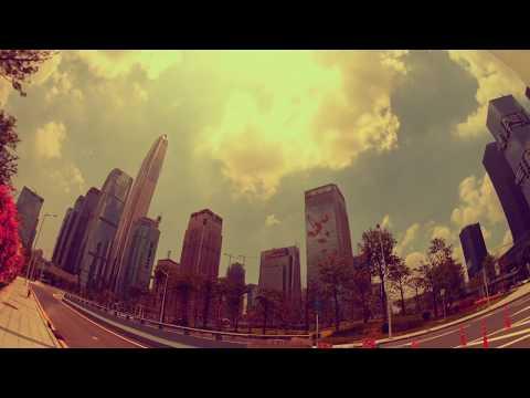 Shengnan Dadao, Shenzhen, Time Laps 4K Video. China