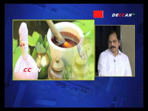 Lead The Life - Herbal Products processing by Mainampati Srinivasa Rao on Deccan TV