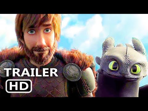 HOW TO TRAIN YOUR DRAGON 3 Official Trailer (2018) Animation, Adventure