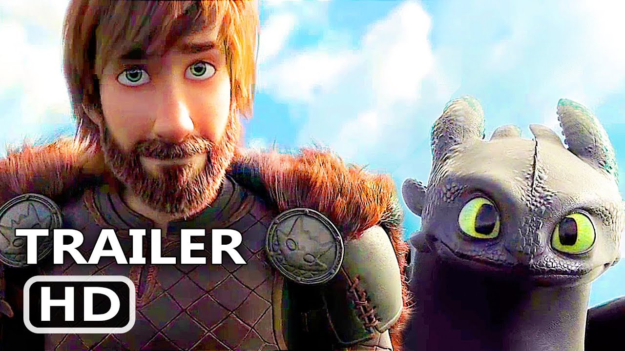 how to train your dragon training scene