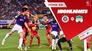 Hà Nội đánh bại Hoàng Anh Gia Lai với cơn mưa bàn thắng trên sân Pleiku   VPF Media