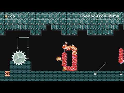 Captain Toads Mini Adventure by Dynamo0602 - Super Mario Maker - No Commentary