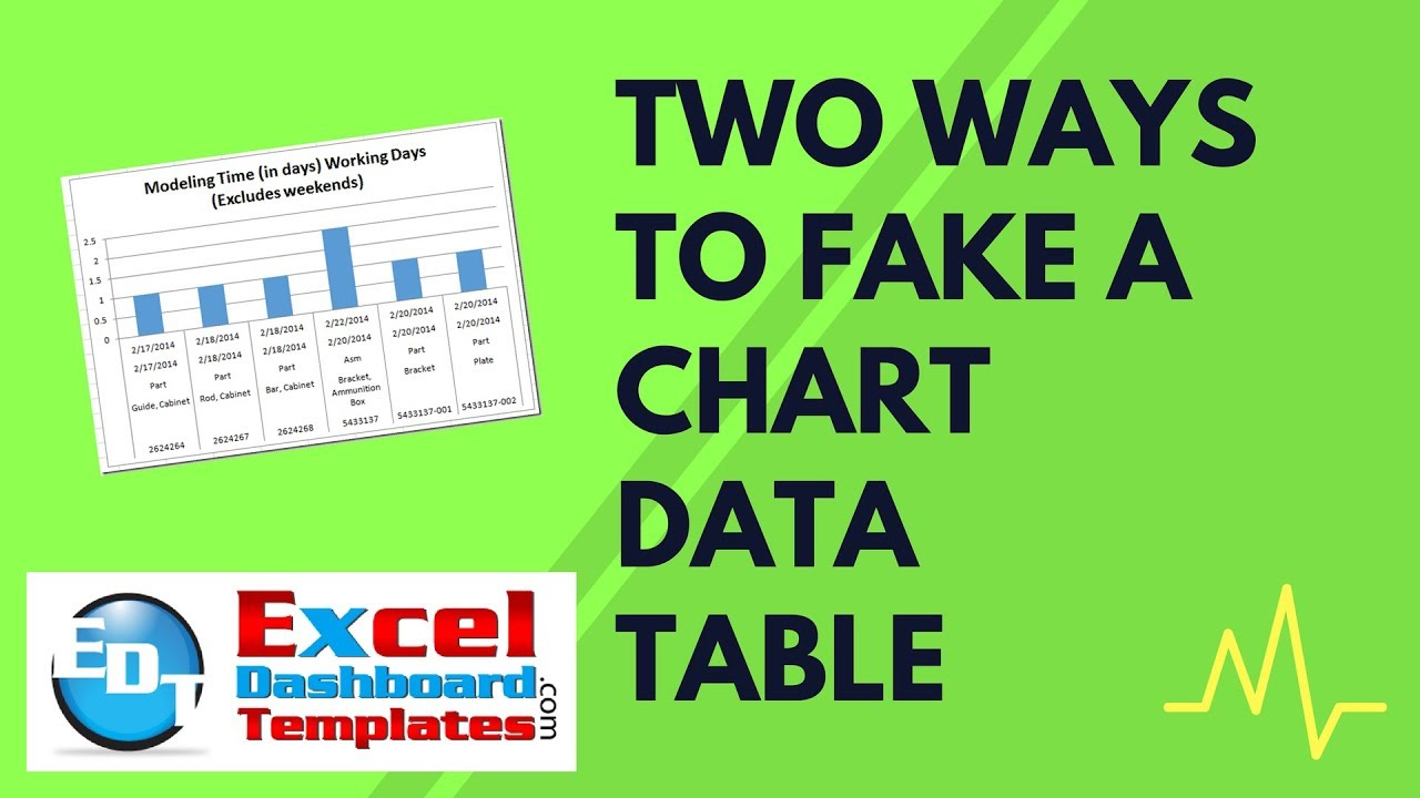Youtube premium also two ways to fake an excel chart data table rh