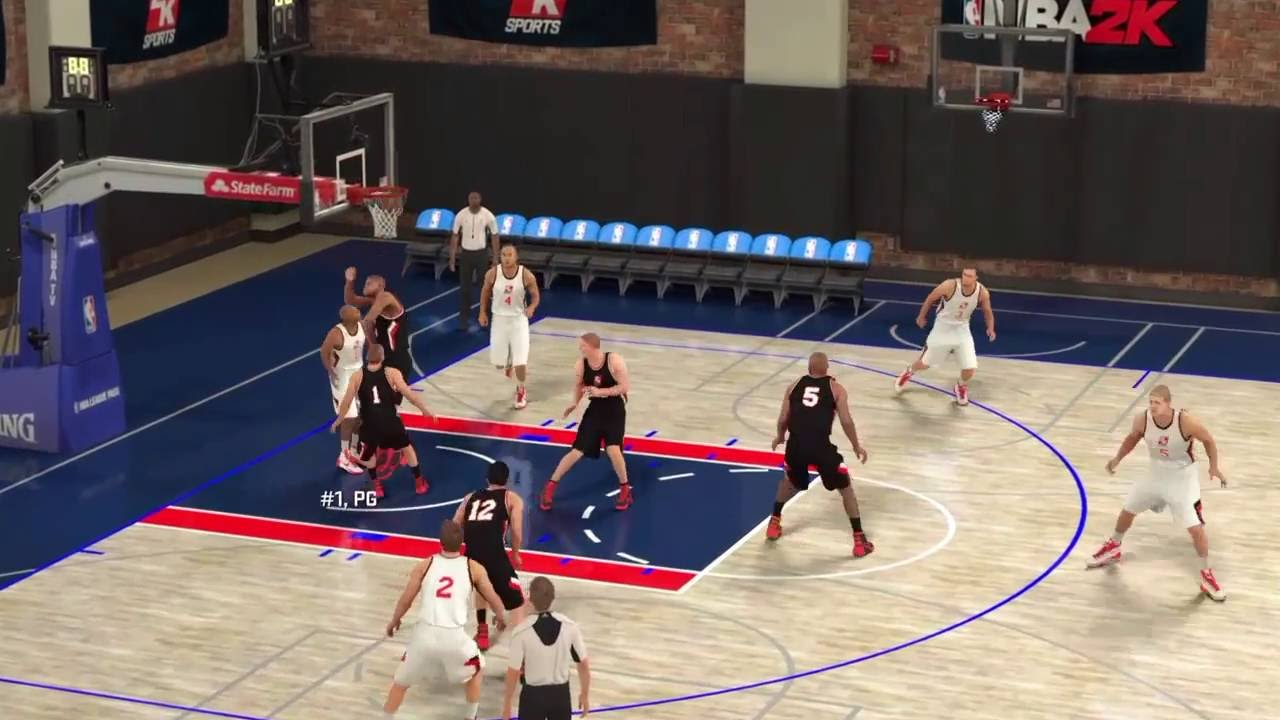 Download NBA 2k17 The Prelude 2kU WHITE PG #1 is unguardable!!
