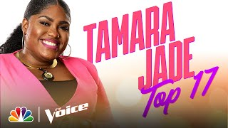 "Tamara Jade Performs the Gnarls Barkley Hit ""Crazy"" - The Voice Live Top 17 Performances 2020"