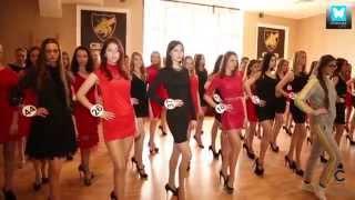 Репортаж Юлии Барсы - Конкурс красоты 'Российская красавица 2015'.  Часть 1-репетиции