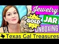 Goodwill Jewelry Jar Unboxing 2018 - GOLD Jewelry Haul to Resell Ebay & Etsy - Jewelry Jar Opening