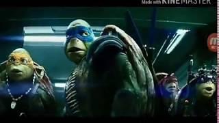 Черепашки ниндзя сцена из фильма