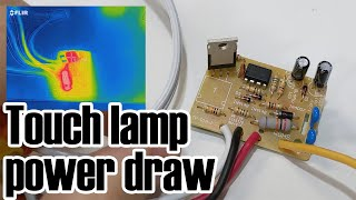 A slightly explosive touch-lamp follow-up (standby energy consumption)