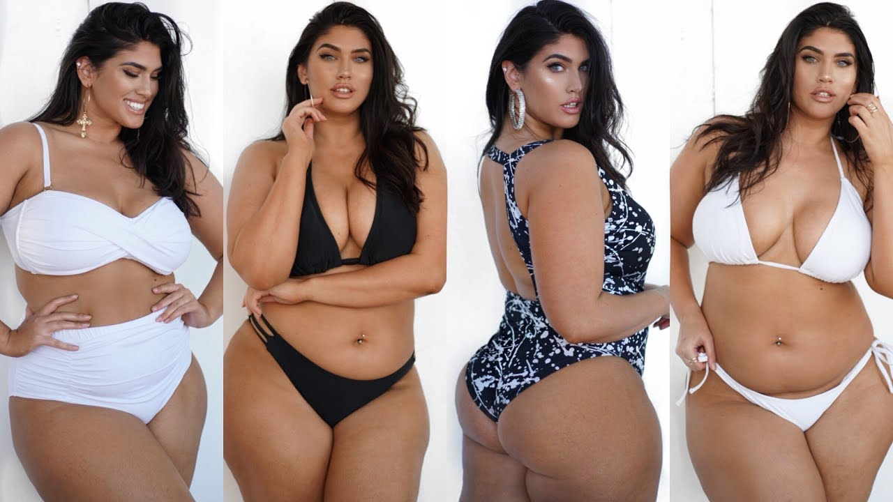 Fashion nova curve swimsuit haul - 1 2