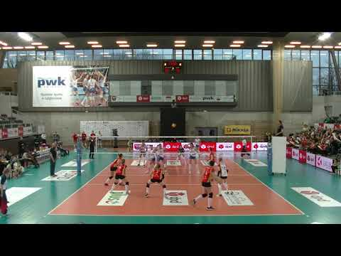 Małgorzata Skorupa MIDDLE BLOCKER Polish League 2018-2019 nr 8 white shirt