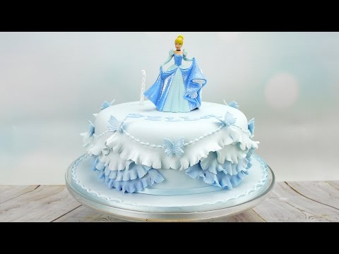 Cinderella Princess Birthday Cake