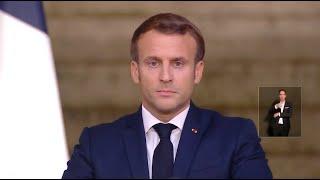 Hommage national à Samuel Paty: le discours de Macron