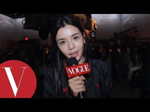 Vogue客座編輯李毓芬直擊COACH秀場,訪問李易峰!