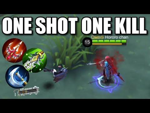 LESLEY ONE SHOT ONE KILL!!!