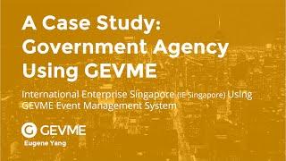 GEVME Case Study: Government Agency Using GEVME Event Management Platform Talk