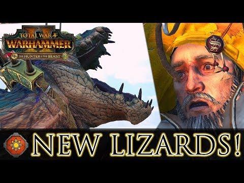 NEW LIZARDS! - The Hunter & The Beast DLC | Total War: Warhammer 2