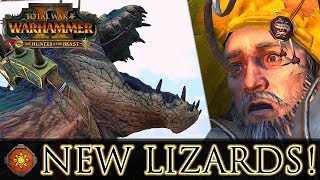 NEW LIZARDS! - The Hunter & The Beast DLC | Total War: Warhammer 2
