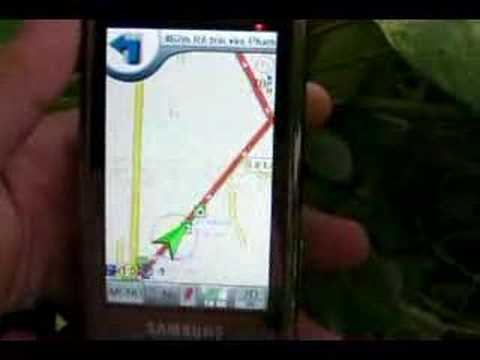 GPS with Samsung i900