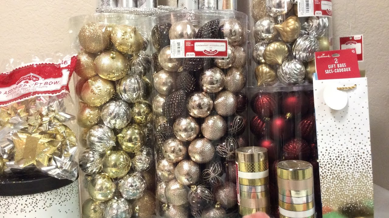 Walmart 75% Off Holiday Ornament & Gift Wrap Clearance ...