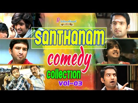 Santhanam Comedy | Scenes | latest | 2015 | Santhanam Comedy Collection - Vol 3