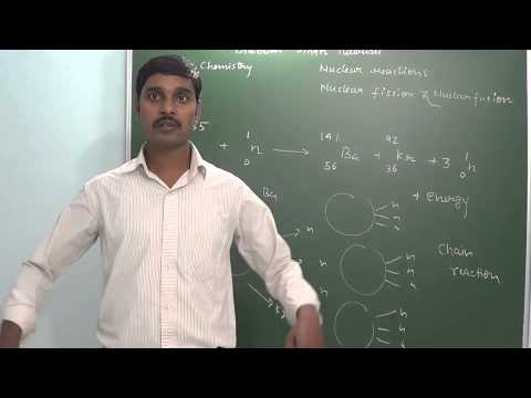 9.7 Nuclear reactions Nuclear fission & Nuclear fusion (Nuclear chemistry)