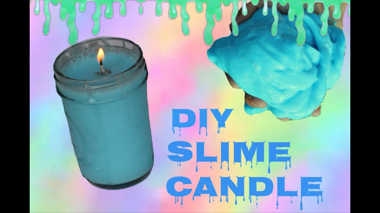 How to make candle wax slime