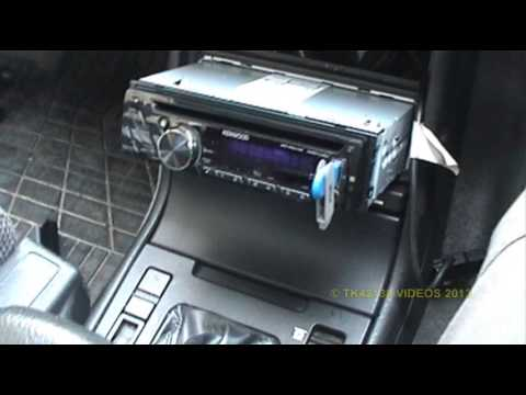 ing Kenwood stereo to Citroen XM - Part 1 on