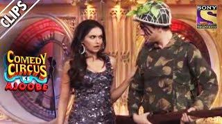 Beena Malik Tries To Impress Mantra   Comedy Circus Ke Ajoobe