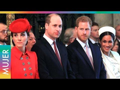 William y Kate ignoran a Meghan y Harry en su despedida