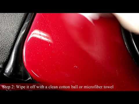 How To Remove Hard Water Spots On Car And Glass With Vinegar
