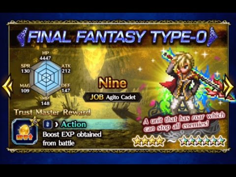 How Strong is Nine 6 Star Level 100? - Final Fantasy Brave Exvius FFBE
