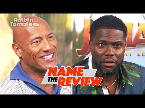 Jumanji: The Next Level's Dwayne Johnson And Kevin Hart Play 'Name The Review' | Rotten Tomatoes