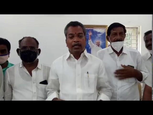 Mylavaram MLA Vasantha VenkataKrishna Prasad in CM Relief Fund Cheque  Distribution.    Vijayawada