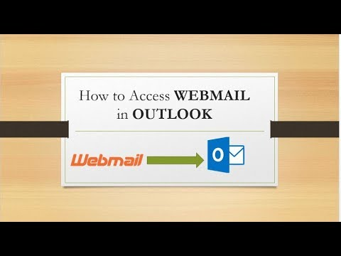 How To Access Webmail In Outlook
