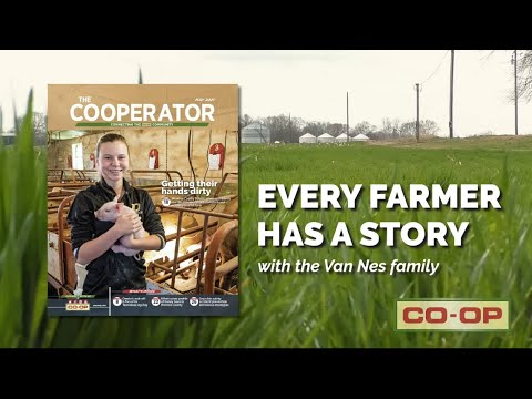 May Cooperator: Van Nes Family