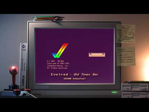 Amiga music: Evelred - Old Times Rec (A1200🎧Dolbyfied)