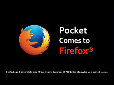 Pocket Comes To Firefox