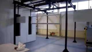 Конвейер порошковой окраски дверей (WWW.RPE.RU)(, 2013-01-18T05:21:33.000Z)