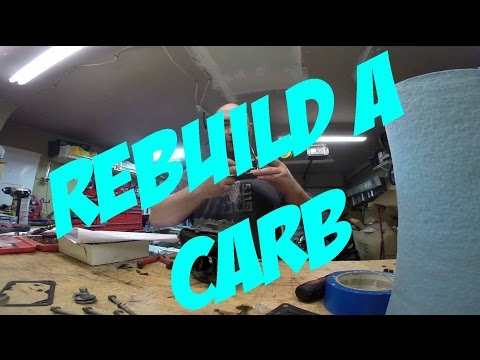 DIY - How to Rebuild a Holley 1850 Carburetor 4160