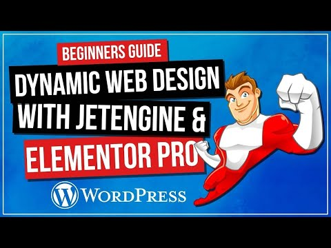 How To Create Dynamic Wordpress Website   Elementor Pro & Jet Engine thumbnail