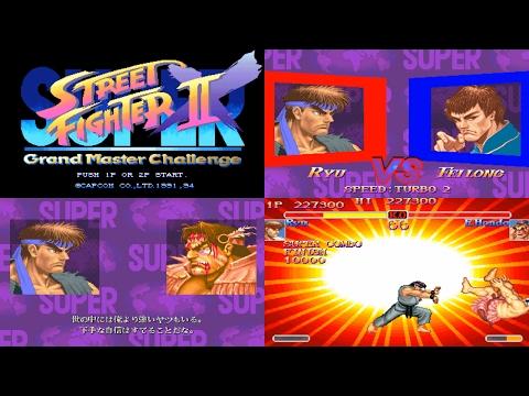 [1/5] Ryu - SUPER STREET FIGHTER II X(Arcade,JP,LV1,EASIEST) [3150x1772,60p]