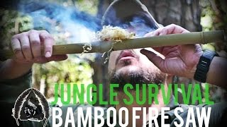 Bamboo Fire Saw- Jungle Survival