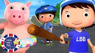 Learn Sports & Activities | Learn English for Kids | Nursery Rhymes | Songs by Little Baby Bum
