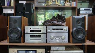 Dàn âm thanh Kenwood 7002 | Cặp loa LS777 hàng sưu tầm