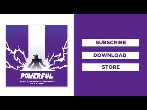 Major Lazer - Powerful (feat. Ellie Goulding & Tarrus Riley) (D.R.A.M Remix)