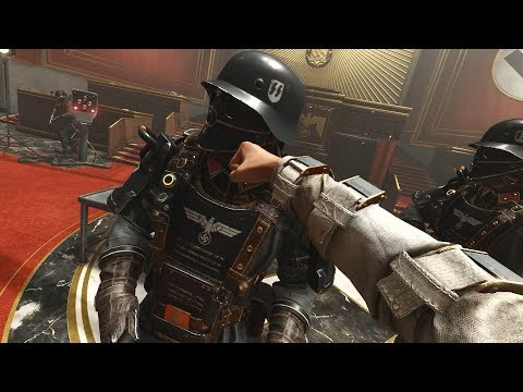 Wolfenstein 2 The New Colossus - Courthouse Battle ( I am de