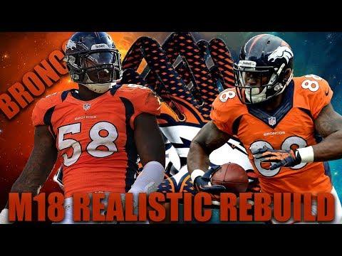 Unlikely Quarterback Superstar! Realistic Rebuild of the 0-16 Denver Broncos | Madden 18 Franchise!