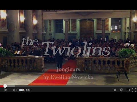 The Twiolins - Jongleurs by Ewelina Nowicka