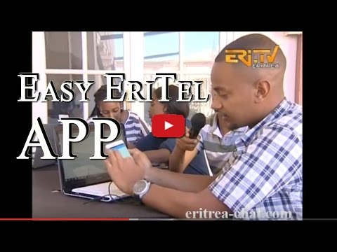 Easy EriTEL App Made in Eritrea by Young Eritrean Students - Java Programming